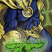 Doctor Fate Poster by John Ashton Golden