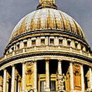 Dome Of St. Paul's Cathedral Poster by Christi Kraft