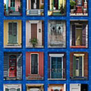 Doors Of New Orleans Poster by Heidi Hermes