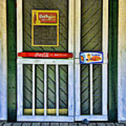 Doorway To The Past Poster by Kenny Francis