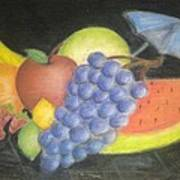 Dreamy Fruit Poster by Tracy Lawrence