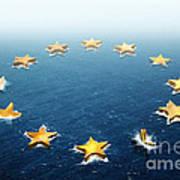 Drifting Europe Poster by Carlos Caetano