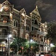 Driskill Hotel Poster by Jane Linders