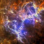 Eagle Nebula Poster by Adam Romanowicz