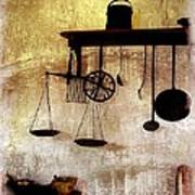 Early Kitchen Tools Poster by Marcia L Jones