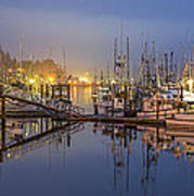 Early Morning Harbor Poster by Jon Glaser