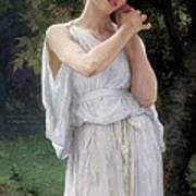 Earrings Poster by William Adolphe Bouguereau