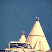 Eat And Sleep In A Wigwam Poster by Edward Fielding