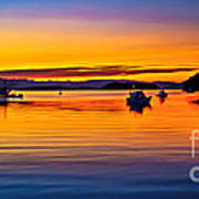 Echo Bay Sunset Poster by Robert Bales