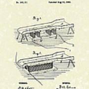 Edison Ore Separator 1882 Patent Art Poster by Prior Art Design