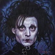 Edward Scissorhands Poster by Tim  Scoggins