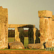 Eerie Stonehenge 4 Poster by Deborah Smolinske