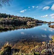 Elsi Reservoir Poster by Adrian Evans