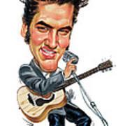 Elvis Presley Poster by Art