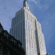 Empire State Building Poster by Jon Neidert
