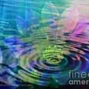 Energy Ripples Poster by PainterArtist FIN