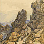 Entrance To The Almanna Gau Circa 1862 Poster by Aged Pixel