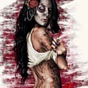 Esperanza Viva Poster by Pete Tapang