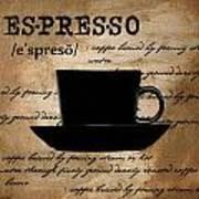 Espresso Madness Poster by Lourry Legarde