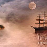 Evening Mists Poster by John Edwards