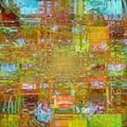 Fabric Three Poster by Fania Simon