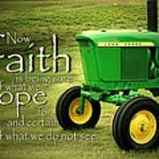 Faith And Hope Poster by Linda Fowler