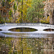 Fall Footbridge Poster by Al Powell Photography USA