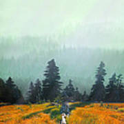 Fall In The Northwest Poster by Jeff Burgess