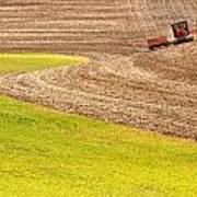 Fall Plowing Poster by Doug Davidson