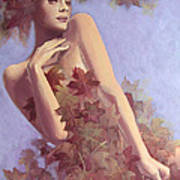 Fall...in Love... Poster by Dorina  Costras