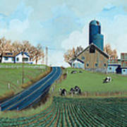 Family Dairy Poster by John Wyckoff