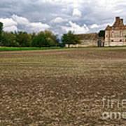 Farm Castle Poster by Olivier Le Queinec