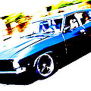Fast Ford Falcon Poster by Phil 'motography' Clark