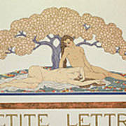 Female Nudes Poster by Georges Barbier