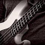 Fender Bass Poster by Bob Orsillo