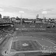 Fenway Park Photo - Black And White Poster by Horsch Gallery