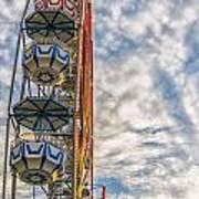 Ferris Wheel Poster by Antony McAulay