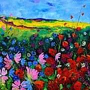 Field Flowers Poster by Pol Ledent