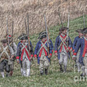 Field Of Honor American Revolution Poster by Randy Steele