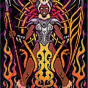 Fierce Poster by Cristina McAllister