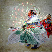 fire Dance Poster by Irma BACKELANT GALLERIES
