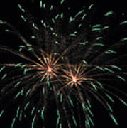 Fireworks 29 Poster by Staci Bigelow