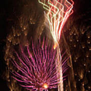 Fireworks Poster by Aimee L Maher Photography and Art Visit ALMGallerydotcom
