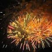 Fireworks IIi Poster by Tiffany Erdman