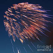 Fireworks Series I Poster by Suzanne Gaff
