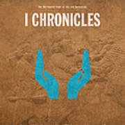 First Chronicles Books Of The Bible Series Old Testament Minimal Poster Art Number 13 Poster by Design Turnpike