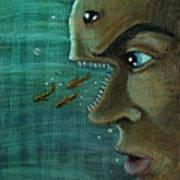 Fish Mind Poster by John Ashton Golden