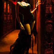 Flamenco Dancer 015 Poster by Catf
