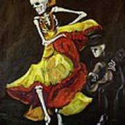 Flamenco Vi Poster by Sharon Sieben