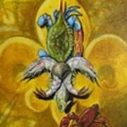 Fleur De Lis Poster by Theon Guillory